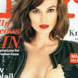 Keira Knightley bares her modest cleavage as she blasts Hollywood bosses for giving her 'droopy' big bust on film poster