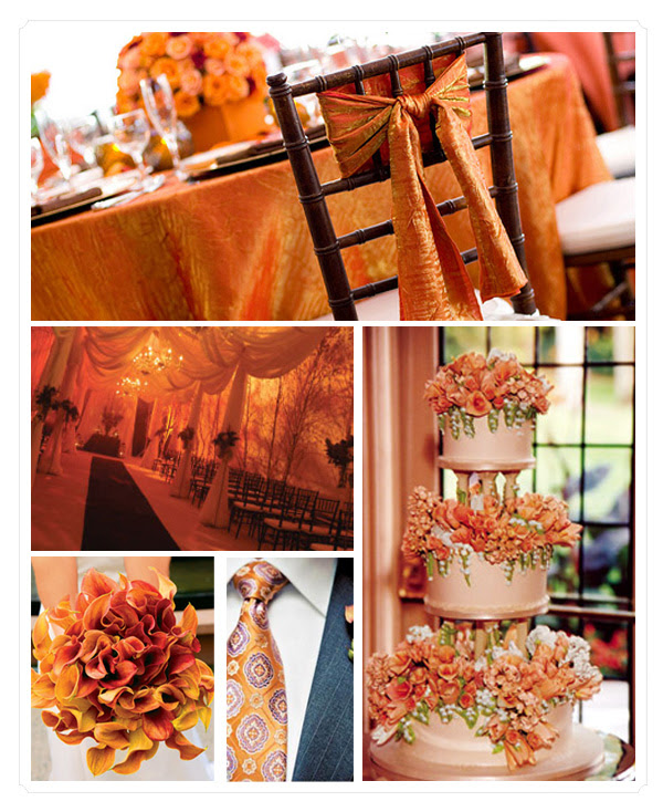 TRENDING ORANGE WEDDING COLOR IDEAS FOR FALL 2014 ...