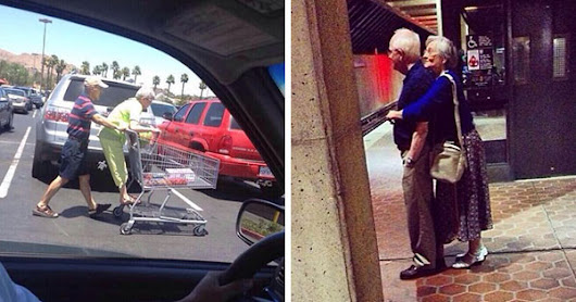 These 16 Elderly Couples Prove That You're Never Too Old To Have Fun