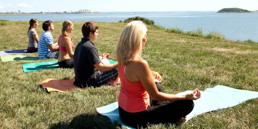 Island Om: Yoga on Spectacle Island