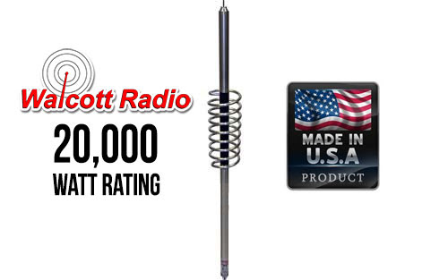 Predator 10-K Competition CB / 10 Meter Antenna with 22in Shaft