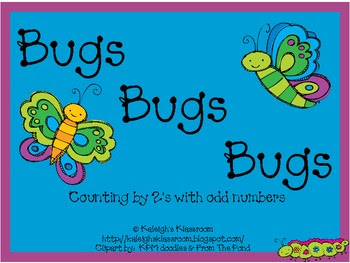Bugs, Bugs, Bugs a Counting by 2's Activity!