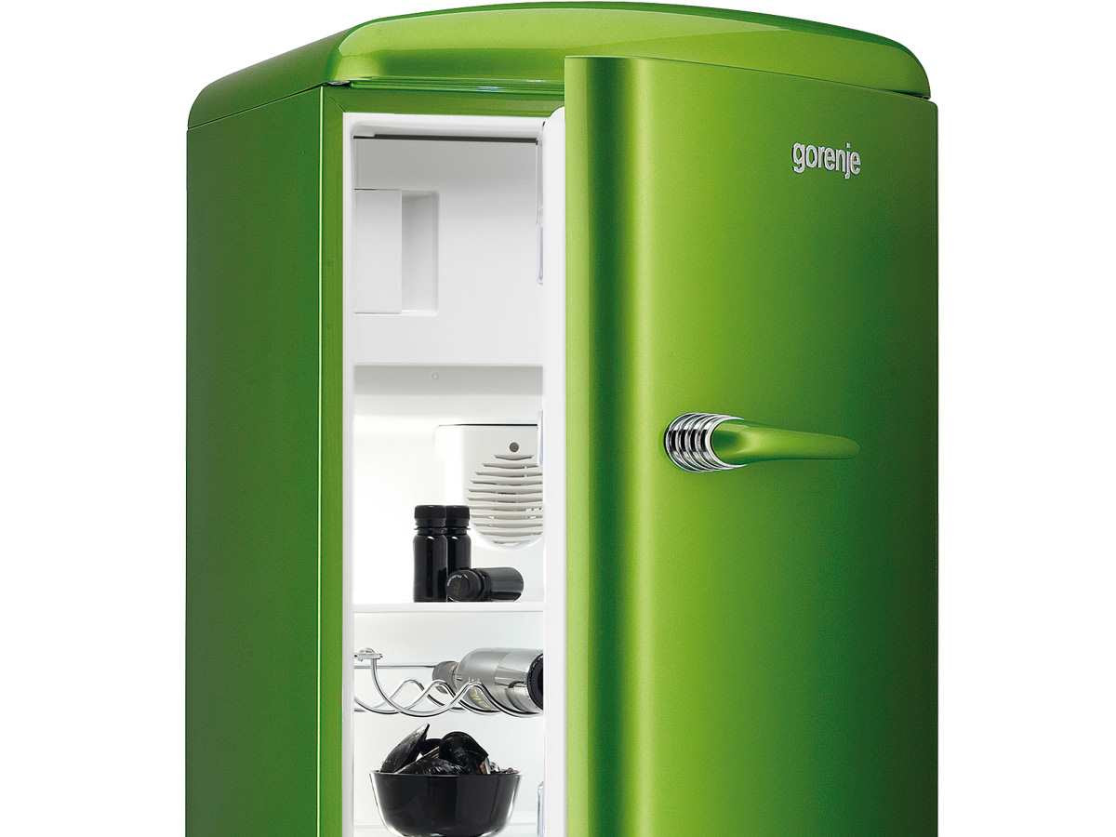 Retro Kühlschrank Yoga : Retro kühlschrank grün: kühlschränke online auf rechnung raten