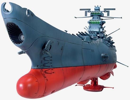 1/500 Space Battleship Yamato English Manual & Color Guide ...
