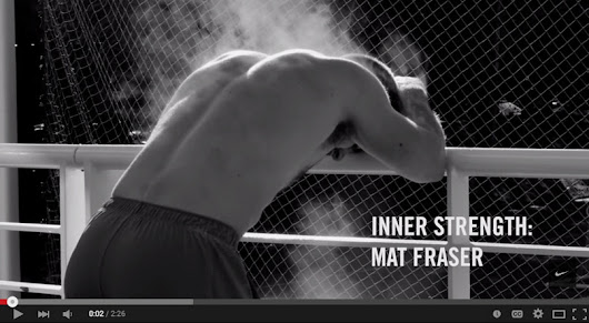 Video: Mat Fraser & Nike Present: Inner Strength