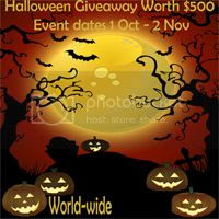 Pregnancy Forum _Halloween Giveaway Worth $500 button