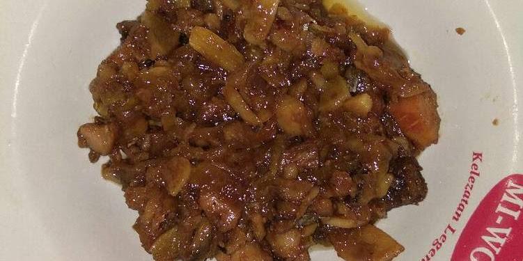 Resep Iwak Karing Telang Masak Asam Oleh Uswatun Hasanah