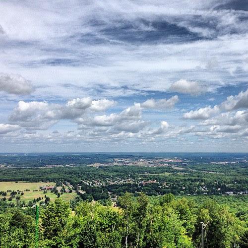 I like to hike #wausau #ribmountain