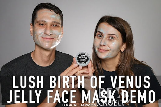 Lush Birth of Venus Jelly Mask Demo & First Impressions - Logical Harmony