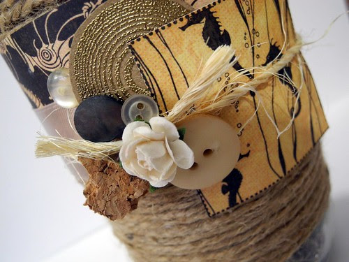 Sandy Beach Jar (detail)