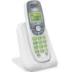 VTech - CS6114 DECT 6.0 Digital Cordless Phone With Caller ID/Call Waiting - White