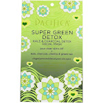 Pacifica Super Green Detox Kale & Charcoal Natural Fiber Facial Sheet Mask 1 Count