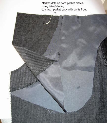 Grey wool pants 2