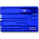 Victorinox Swiss Card Multipurpose Tool, Translucent Sapphire