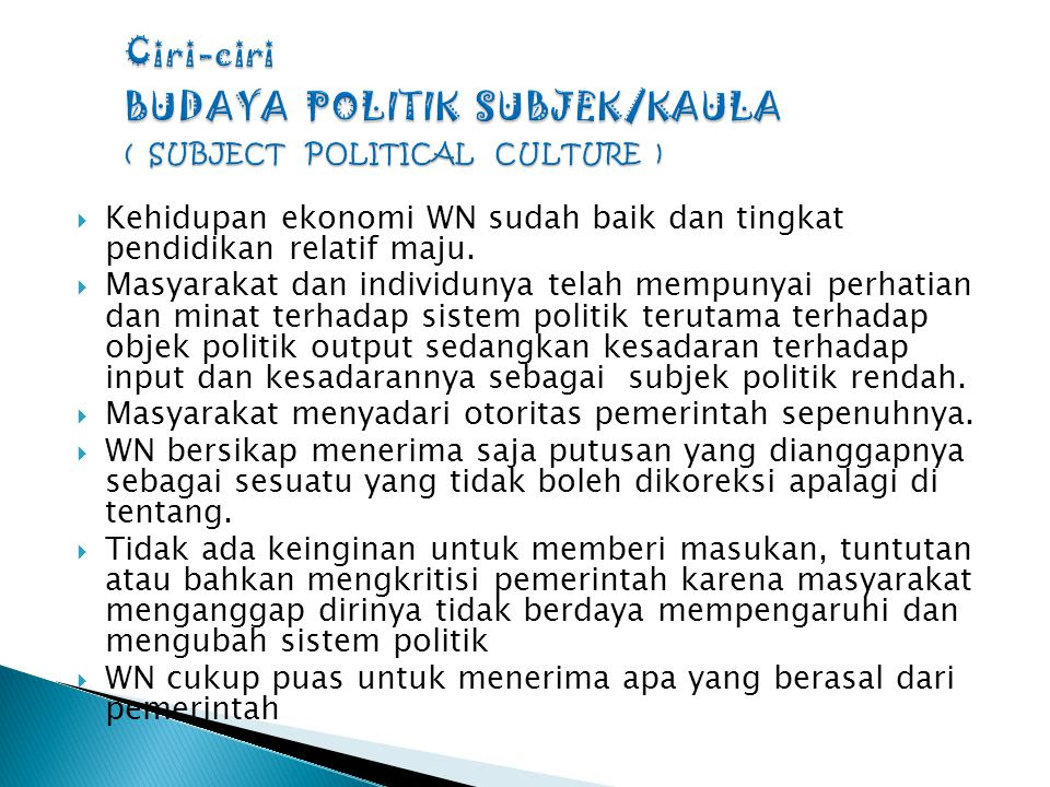 SISTEM POLITIK INDONESIA  ppt download