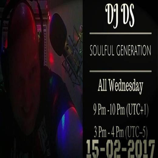 "#House, #Soulful House  DJ DS (SOULFUL GENERATION DJDS)  SOULFUL GENERATION ON HOUSE STATION RADIO 15 TH BY DJ DS(FRANCE) FEBRUARY15TH 2017<small style=""margin: 0 0 0 10px; font-size: 11px; color: #fff;"">original"