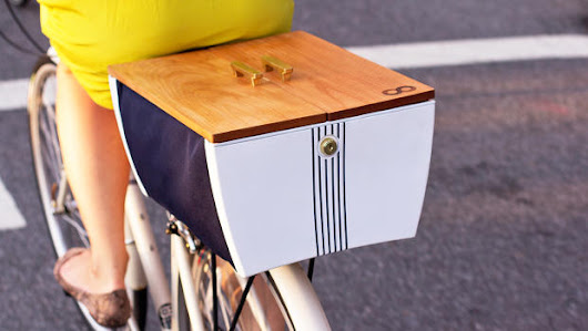This Transformable Bike Basket Might Get More People Out Of Cars