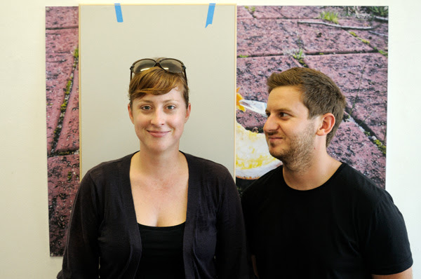 Shannon Lyons & David Attwood Artists Portrait at SNO 78 Marrickville Sydney