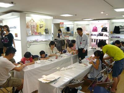 夏休イベント,夏休工作,牛乳パックを使った工作教室,松菱
