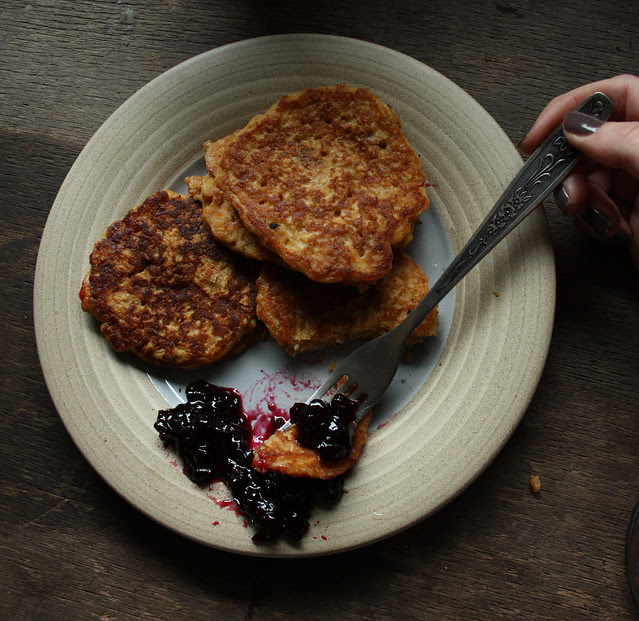 Corn Flakes pancakes