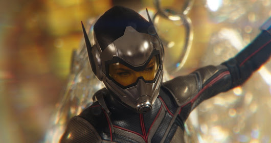 Over 20 official stills and behind the scenes images from 'Ant-Man and the Wasp'