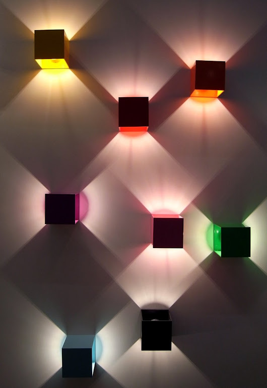 Latest Home Design Trends: Geometric Wall Lights