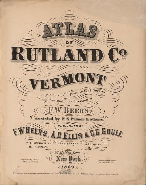 19th c. heading typography