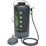 Nemo Helio LX Pressure Shower - Colour: Black / Apple Green