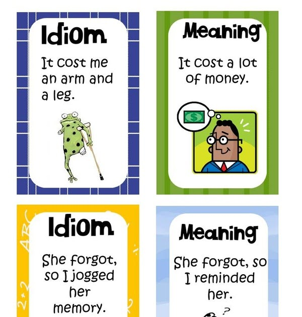 idiom examples