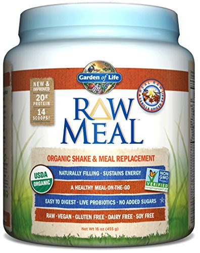 Garden of Life Meal Replacement - Organic Raw Plant Based ...