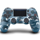 Sony DualShock 4 Wireless Controller, Blue Camouflage