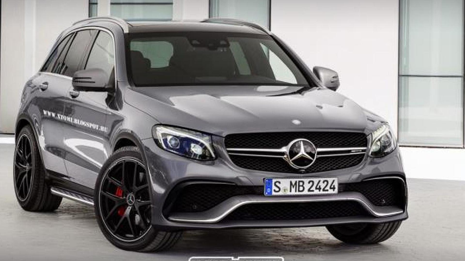 Rumored Mercedes-Benz GLC 63 AMG rendered