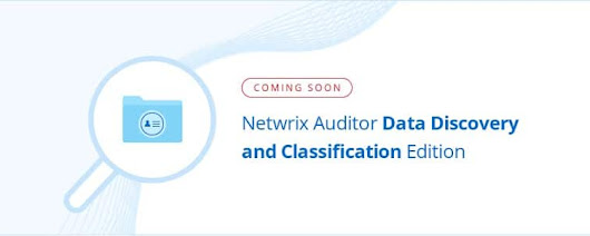 Netwrix Pre-Release Demo: Data Discovery and Classification Functionality