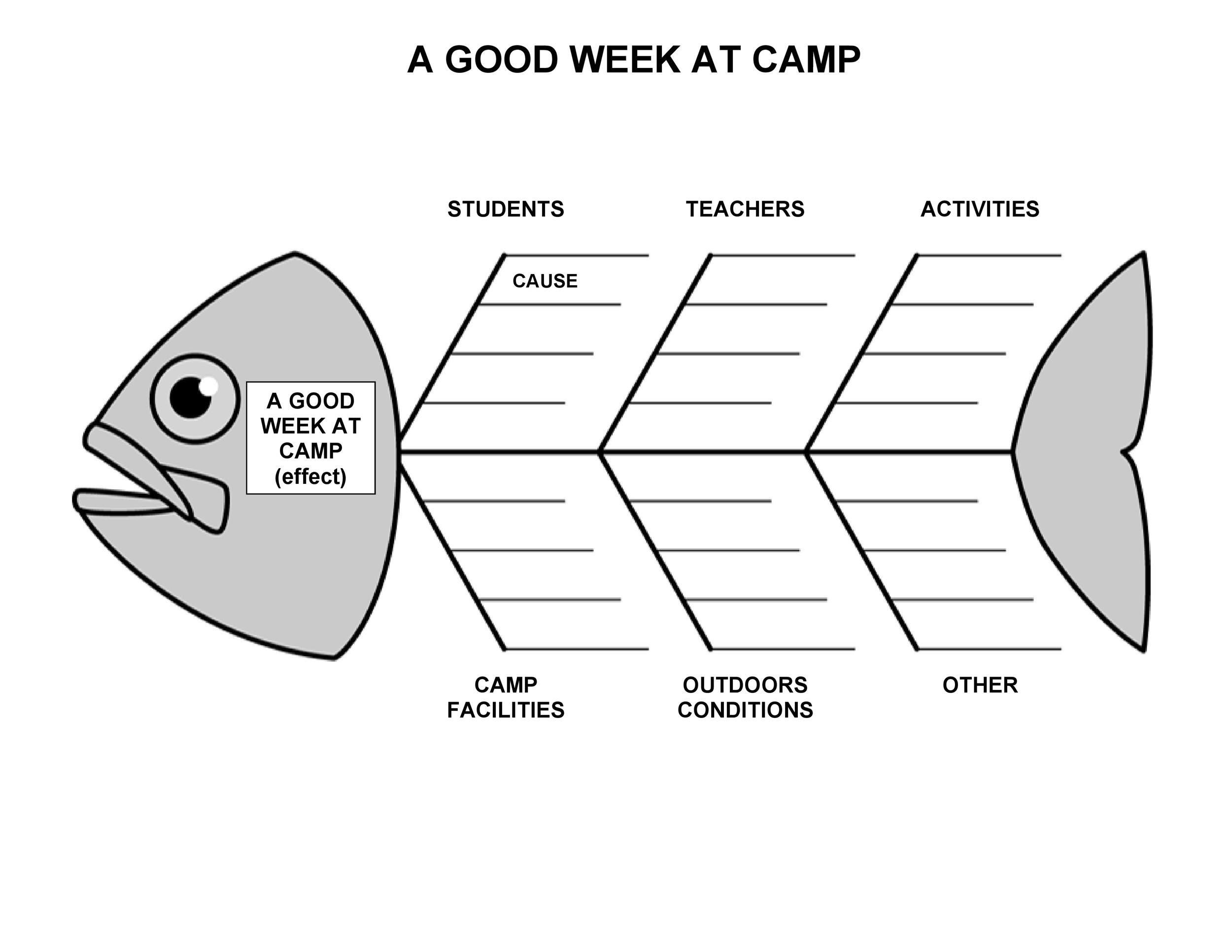 fishbone diagram template 06