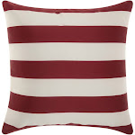 Mina Victory by Nourison Outdoor Stripes Decorative Throw Pillow