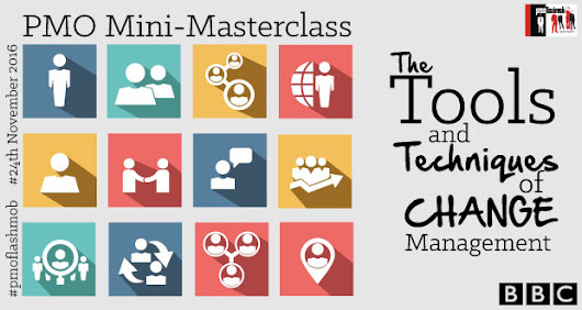 London \ Mini-Masterclass – Tools and Techniques of Change Management || 24th November
