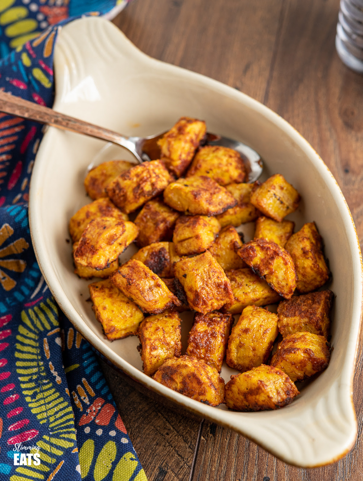 Oven Baked Sweet Plantain   Slimming Eats Recipes