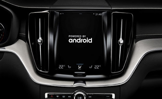 Volvo Teams Up with Google to Develop Next-Gen Infotainment System