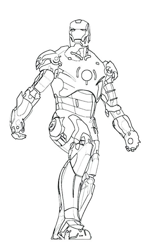 The best free Iron man drawing images. Download from 12591 ...