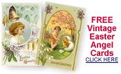 free vintage Easter angel cards