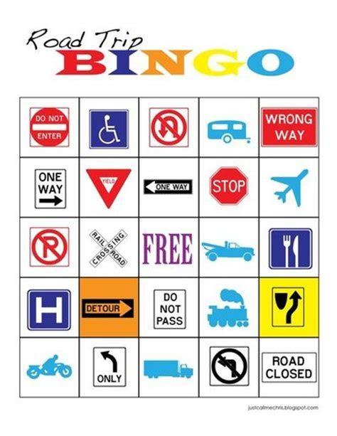 Free printable Road Trip Bingo!! / Preschool items   Juxtapost