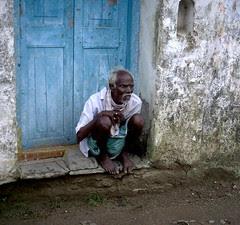 Servant Waiting At The Door...