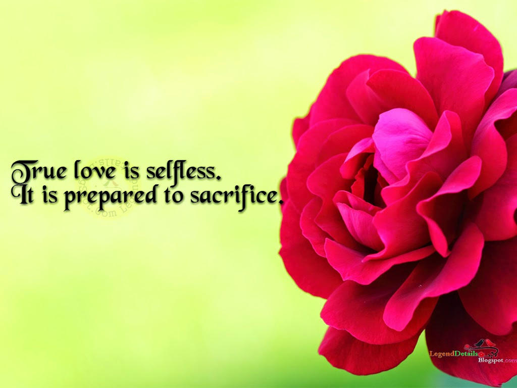 Motivational Love Quotes About Love Is Selfless Parryzcom