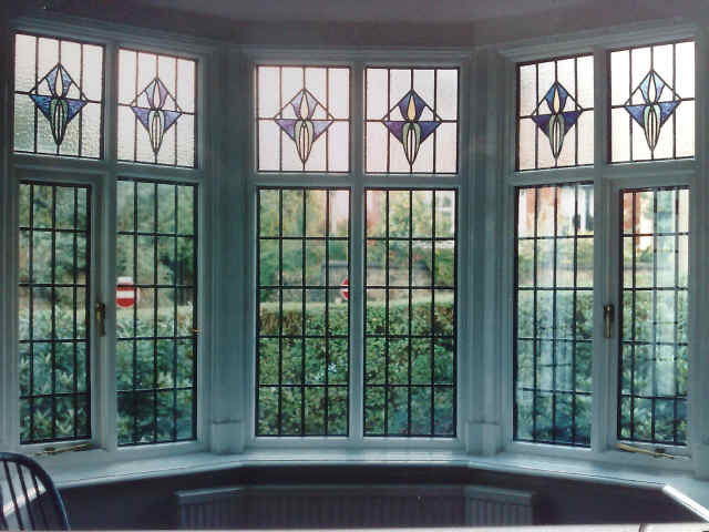 Encapsulated Stained Glass Triple Double Glazing Stained Glass
