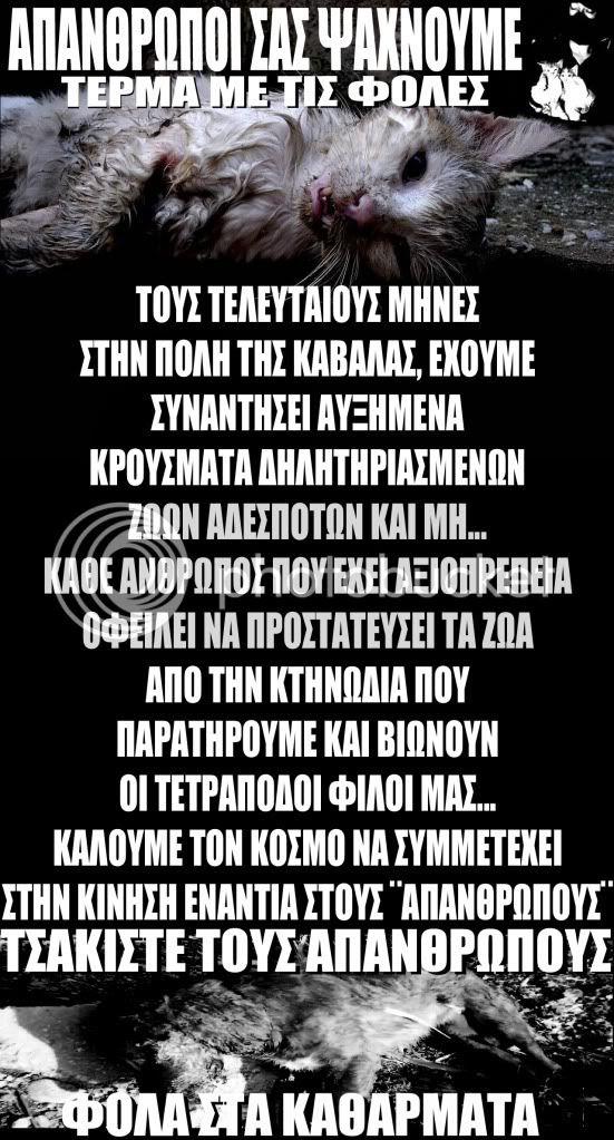 ΤΕΡΜΑ ΜΕ ΤΙΣ ΦΟΛΕΣ