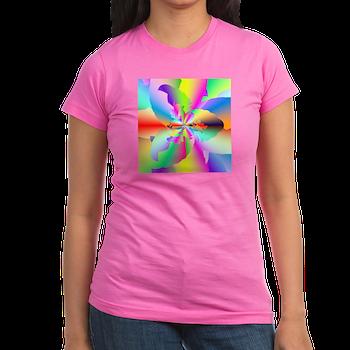 Fractal Fire Flower T-Shirt