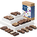 Celebrate the Season Deluxe Medley Gourmet Chocolate Gift Box by Fairytale Brownies