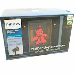 Philips Christmas Laser Projector Dancing Santa Red/Green