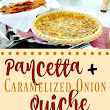 Pancetta and Caramelized Onion Quiche [Recipe] | Sprint 2 the Table