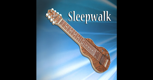C6 Lap Steel Guitar Sleepwalk